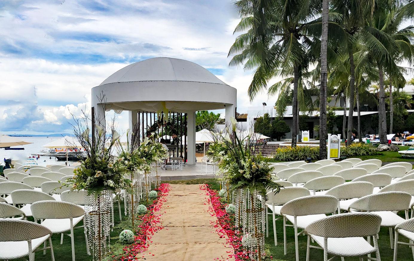 セブ島結婚式 セブ島挙式会場 セブ島ウエディング セブ島モーベンピック